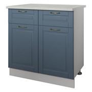 Кухонный модуль Стол 2 двери 2 ящика 80 см Палермо фото