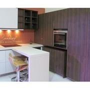 Кухня двухцветная фото