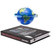 """Левитационный глобус """"Книга"""" На антигравитационной платформе фотография"""