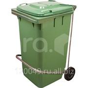 Педаль для мусорного контейнера МКТ 240 Арт.Педальный привод для МКТ 240 фото