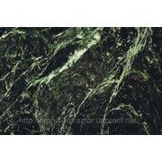 Мраморная плитка verde (зеленая) фото