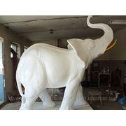 Статуэтки животных из искусственного мрамора фото