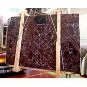 Мраморные слябы (красный мрамор) фото