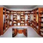 Система шкафов для гардеробной комнаты АРКАДИЯ фото