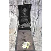 Памятники ганит от производителя Житомир (Образец №184) фото