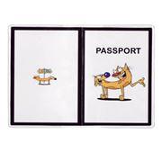 """Обложка на паспорт """"Cat-Dog"""" фото"""