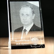 Планшет с трёхмерной фотографией фото