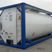 Танк контейнер T11 для перевозки пищевых веществ. фото
