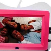 Цифровая фоторамка в форме логотипа Apple, с полнофункциональным пультом дистанционного управления фото