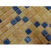 Микс из стеклянной мозаики Gl mix 31 На бумажной основе фото