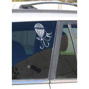 Наклейка автомобильная «Balloon Team» фото