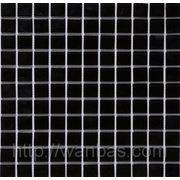 Черная стеклянная мозаика B 066 фото