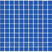 Синяя Китайская мозаика прозрачное стекло B 021 фото