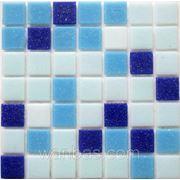 Мозаика GL mix 15 на (Бумажной основе) фото