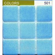 """Мозаика Испанская """"Colors""""FOG TURQUOISE BLUE 501 фото"""