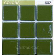 """""""Colors"""" Мозаика Испанская DARK GREEN 602 фото"""
