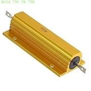 Резистор выводной мощный RX24 75W 5% 75R фото