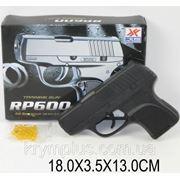 Пистолет RP600 (812752) с пульками,в кор. 18*13*3,5см фото