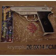 Пистолет P196 с пульками,в пакете 20*14,5см (шт) фото