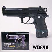 Пистолет WD898 пульки,в кор 24*16*4,5см (шт) фото