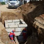 Прокладка наружных и внутренних сетей канализации в Астане фото
