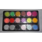 Цветной акрил 18 цветов фото