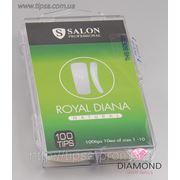 Типсы натуральные Salon Professional Royal Diana Natural - 100 шт фото