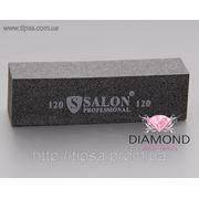 Бафф Salon Professional графитовый чёрный 120 фото