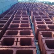 Блоки, Сплитерный блок красный фото