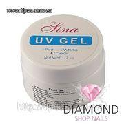 Гель LINA UV gel White УФ белый 14.5 гр фото