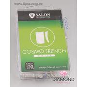 Типсы белые Salon Professional Cosmo French White - 100 шт фото