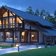 Строим дома, бани, гостиницы в стиле фахверк фото