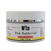 Гель Nila Строительный Pink Builder Gel ,15 гр. фото