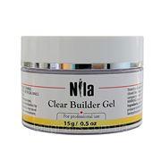 Гель Nila Строительный Clear Builder Gel ,15 гр. фото