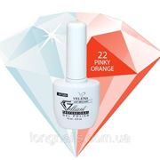 Гель-лак Gelliant Velena № 022 (розово-оранжевый) 14 мл фото