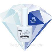 Гель-лак Gelliant Velena № 018 (блестящий голубой ) 14 мл фото