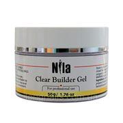 Гель Nila Строительный Clear Builder Gel ,50 гр. фото
