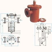 Фильтр сливной для фильтрации на АЗС и нефтебазах фото