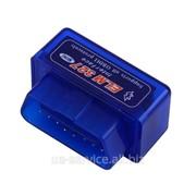 Мини ELM327 Bluetooth OBD сканер CAN-BUS v.2.1. фото