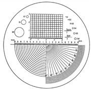 Шкала измерения точности для различных приложений, артикул 115202 фото