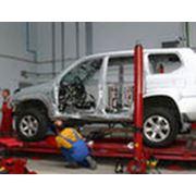 Работы кузовные и покраска автомобилей Toyоta фото