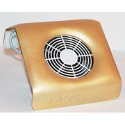 YRE-238 Настольная вытяжка для маникюра маленькая, цвет-золото. фото