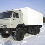 Автофургон СП на шасси КАМАЗ