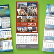 Производство календарей и открыток фото