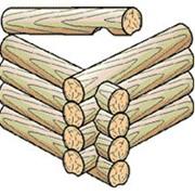 Сруб деревянный