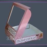 Коробка для пончиков фото