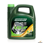 Масло моторное Fanfaro LSX JP SAE 5W30 API CN/SM/CF, 4л фото