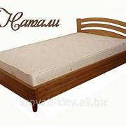 """Односпальная кровать """"Натали"""" из массива фото"""
