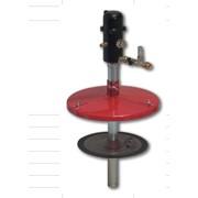 Пневматический насос с высокой подъемной способностью и комбинированным адаптером для простого и быстрого заполнения картушей со смазкой Lube-Shuttle® фото