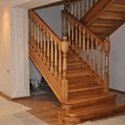 Деревянная лестница внутренняя 05.01.2015 фото